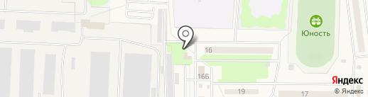Налк на карте Андреевки
