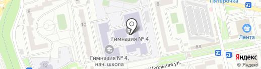 Федерация каратэ Красногорского района на карте Нахабино
