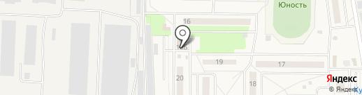 Дента-Гаг на карте Андреевки