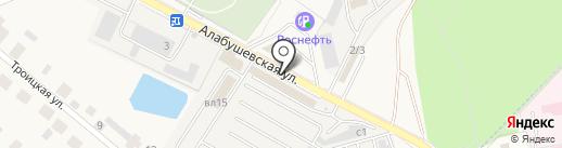 Магазин дверей на карте Андреевки