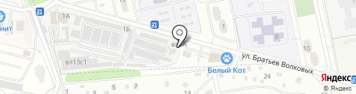 Светлана на карте Нахабино