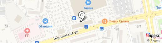 АБИКО на карте Андреевки