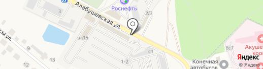 Продовольственный магазин на карте Андреевки
