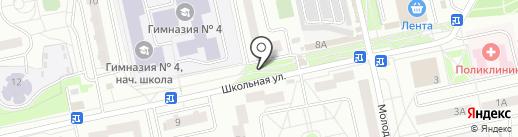 Цветочный магазин на карте Нахабино