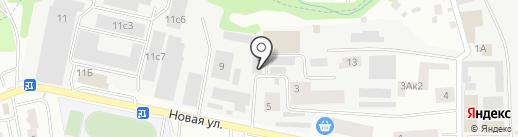 Шкафэ на карте Нахабино
