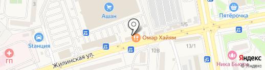 Памятник на карте Андреевки