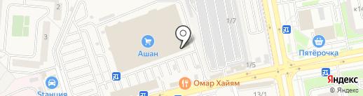 ФИНАРС Банк на карте Андреевки