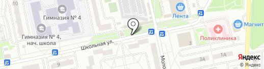 Плюс & Плюс на карте Нахабино