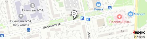 Банкомат, Сбербанк, ПАО на карте Нахабино