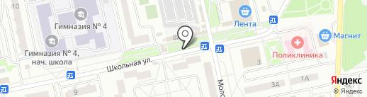 Ирис на карте Нахабино
