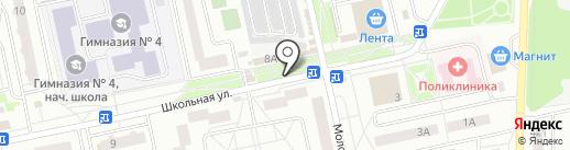 Магазин женской одежды на карте Нахабино