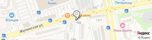 Славянка, ЗАО на карте Андреевки