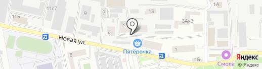 Домовенок на карте Нахабино