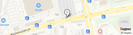 RU-салют на карте Андреевки