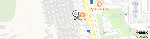 Автостоянка на карте Андреевки