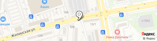 Донер кебаб на карте Андреевки