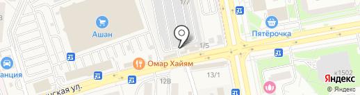 Мир автостекла на карте Андреевки