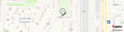 Участковый пункт полиции на карте Андреевки