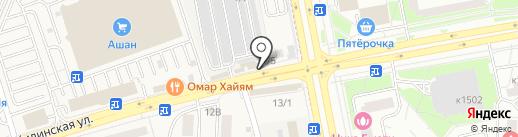 Платежный терминал, Московский кредитный банк, ПАО на карте Андреевки