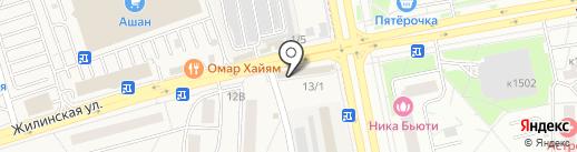 Кокетка на карте Андреевки