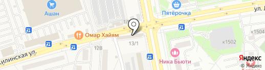 Феона на карте Андреевки