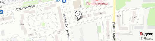 Участковый пункт полиции на карте Нахабино