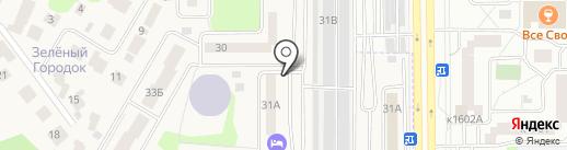 Смайл на карте Андреевки