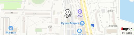 Шауroom на карте Андреевки