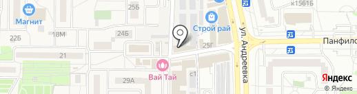 Сссср gsm на карте Андреевки
