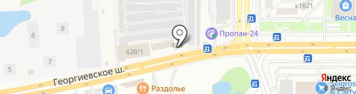 Магазин фастфудной продукции на карте Андреевки