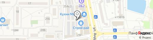 Стройрай на карте Андреевки
