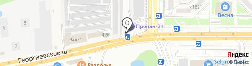 Шиномонтажная мастерская на карте Андреевки