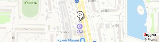 Артель на карте Андреевки