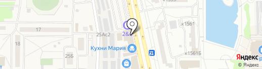 Идеал сити на карте Андреевки