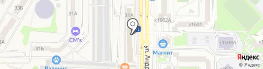 Натали на карте Андреевки