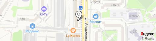 Урок труда на карте Андреевки