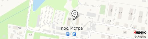 Русинка на карте Истры
