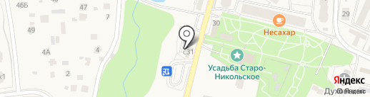 Первомайское на карте Первомайского
