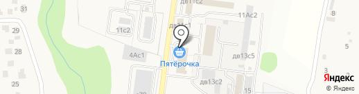 Пятерочка на карте Первомайского