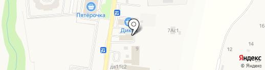 АвтоЭксперт на карте Первомайского
