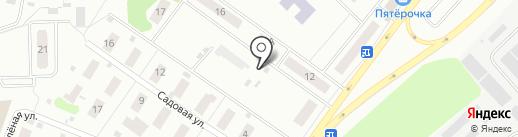 Автостоянка на Парковой на карте Нахабино