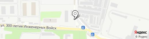 Магазин фастфудной продукции на карте Нахабино