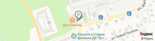 Киоск фастфудной продукции на карте Мечниково