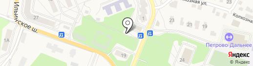Магазин фруктов и овощей на карте Мечниково