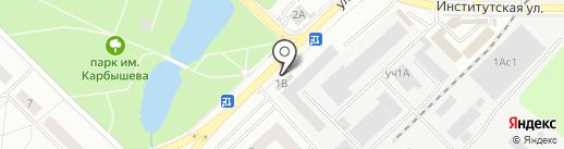 Продуктовый магазин на карте Нахабино