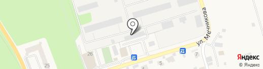 Гжельский фарфор на карте Мечниково