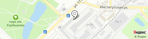 Юридическая компания на карте Нахабино