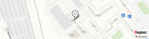 Автомойка на карте Нахабино