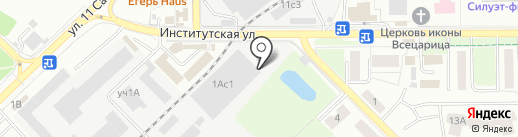 ТЕХЭКОПРОЕКТ на карте Нахабино