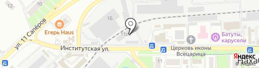 Автокомплекс на карте Нахабино